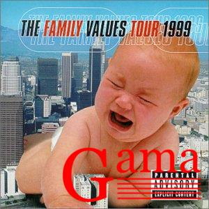 The Family Values Tour 1999 - kaseta magnetofonowa