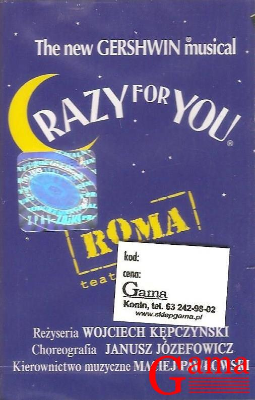 "Gershwin ""Crazy For You"" Roma / kaseta magnetofonowa Gershwin ""Crazy For You"" Roma / kaseta magnetofonowa"
